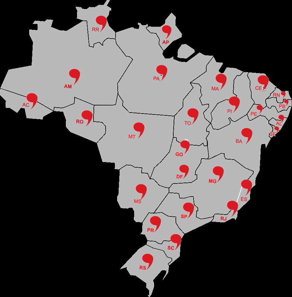 Mais de 150 mil alunos em todo Brasil