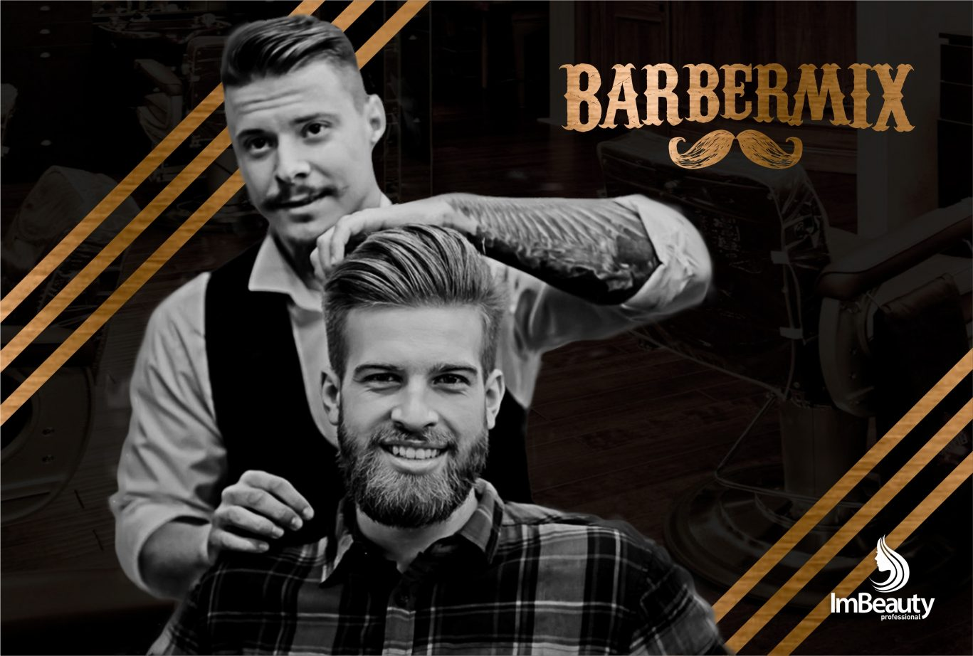ImBeauty inova mais uma vez com a linha BarberMix