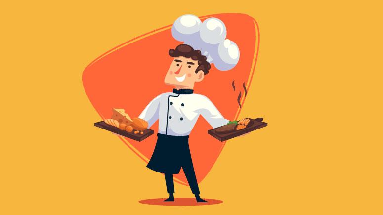 Como ser um bom chef profissional e se destacar no mercado?