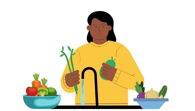 Como higienizar frutas e verduras?