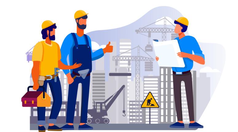 Mestre de obras em falta na construção civil